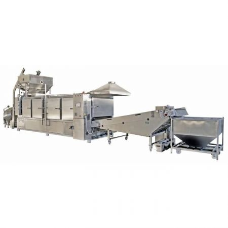 Continuous Flow Aerothermal Nut Roasters `ΑΡ´